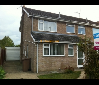3 bed semi-detached property in Sleaford FOR SALE